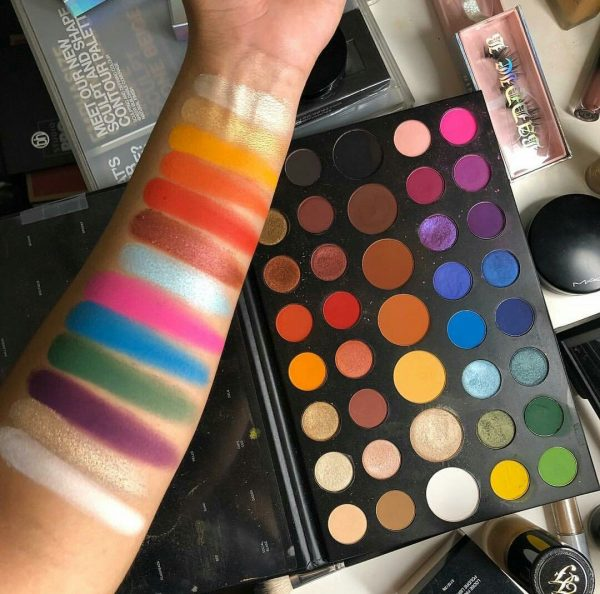 Morphe James Charles Artistry Palette of Swatches, eyeshades at como.pk online shop in pakistan lahore karachi islamabad,